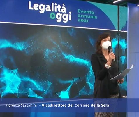 L'intervento del vicedirettore del Corriere della Sera Fiorenza Sarzanini