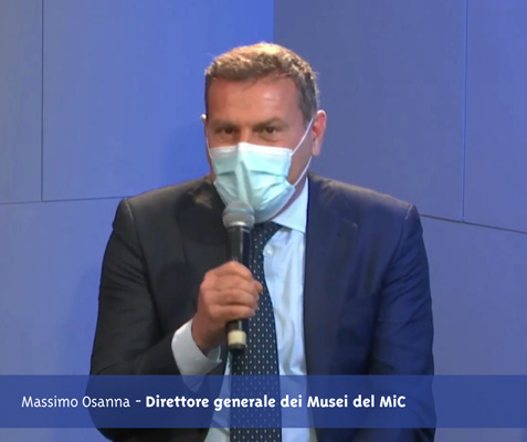 L'intervento del Direttore generale dei Musei del MiC Massimo Osanna