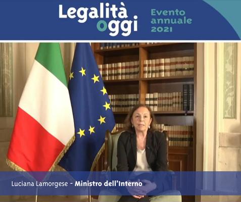 L'intervento del ministro Lamorgese