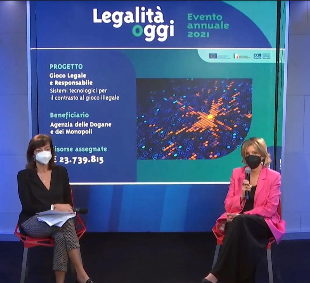 Evento annuale 2021 del PON Legalità